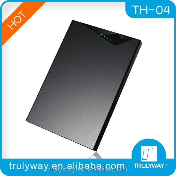 Trulyway TH-04 Aluminum case power juice charger 20000mAh for laptop