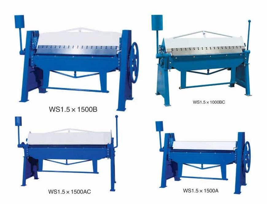 Quality the iron hand metal sheet folding machine,sheet metal manual folding machine