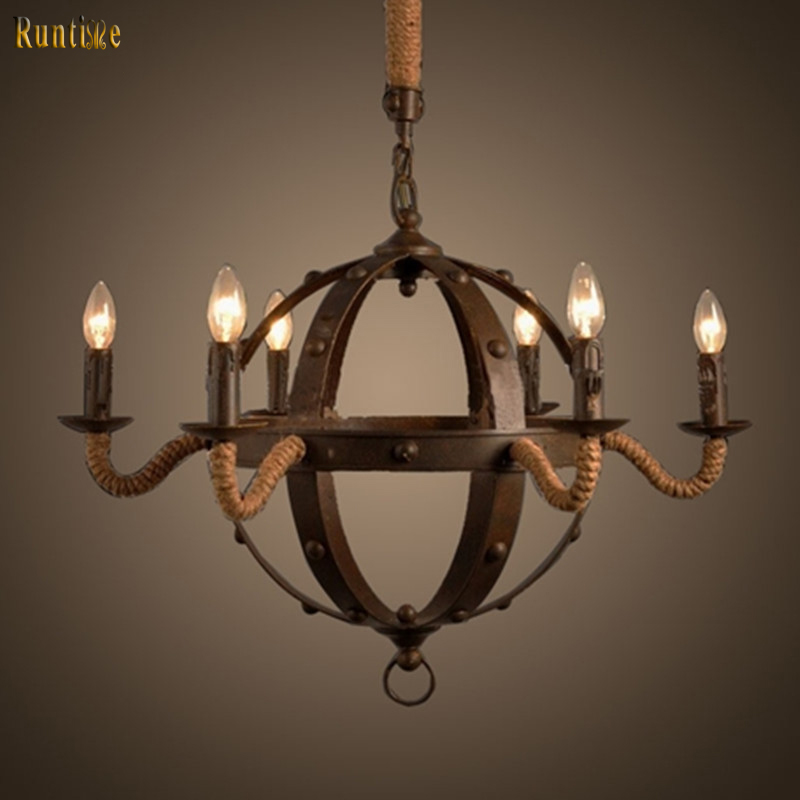 new filament vintage chandelier light retro 3 cord pendant light decorative loft coffee ceiling light