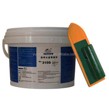 Acrylic Crystal Transparent Mosaic Grout Adhesive And Sealants