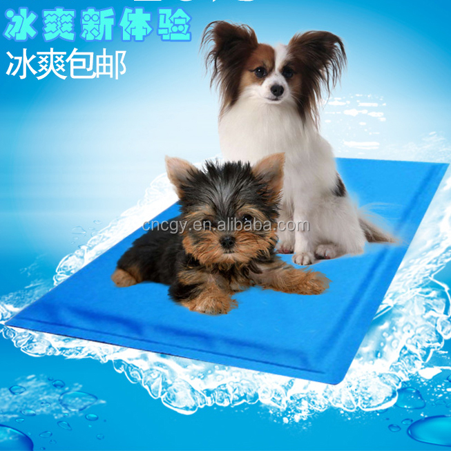 China Factory Summer SGS Certificate Gel Reuseable Pet Cooling Pad For Dog