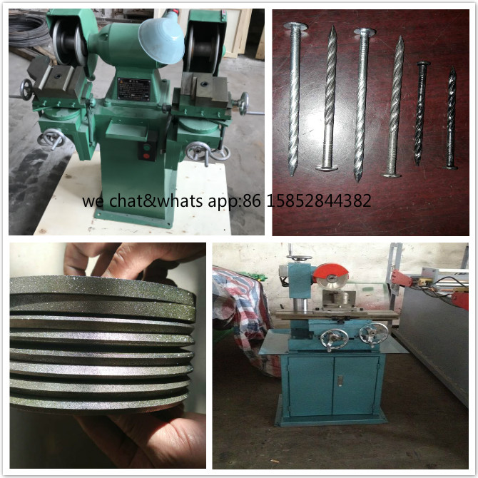 Nail Cutter Grinder/Nail making Cutter grinding Machine