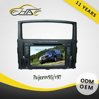 double din navigation software for windows ce for Mitsubishi pajero v93/v97