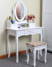 Anewway hotel room Particle wood white dressing table