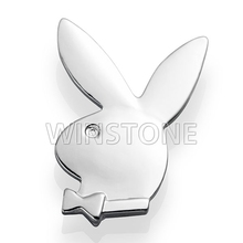 pin symbol badge with silver color