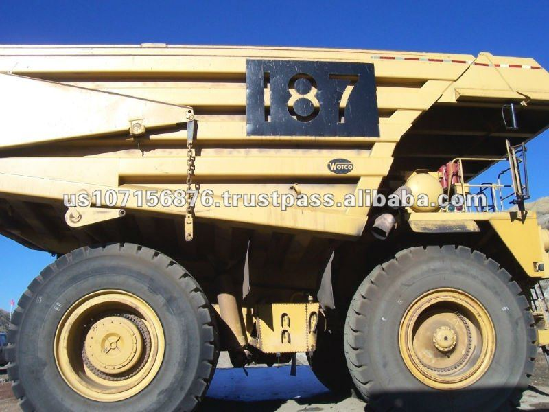 High Quality Caterpillar 789 Used Dump Truck