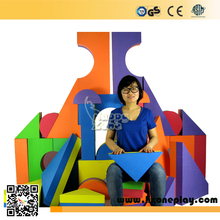 CE huge big EVA Foam Material Educational Big Building Blocks for Children indoor playground play center