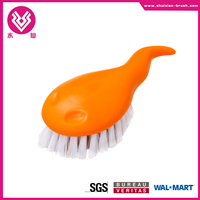 cute cleaning brush plastic nail brush