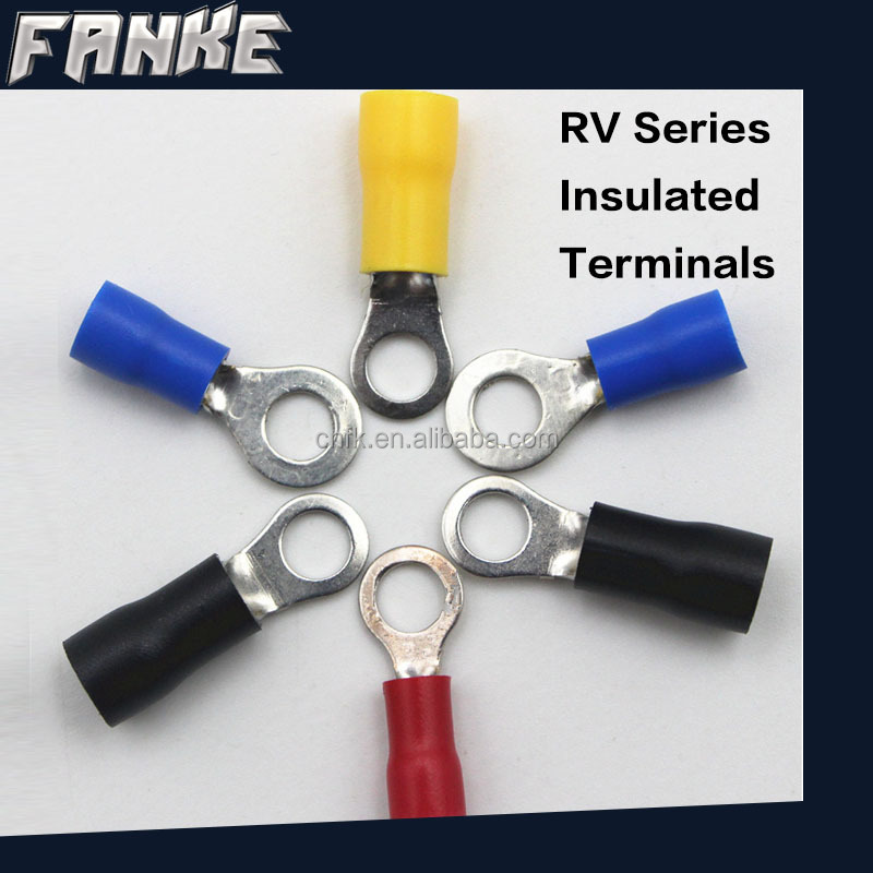 Fanke RV1.25-8 brass copper connector/Cold pressed terminals/Cable lugs