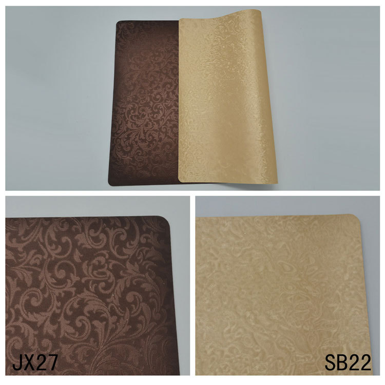 cheap wholesale faux leather table cloth mat dubai fashion leather placemat glitter leather vinyl placemat