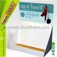 portable counter display box cardboard pdq