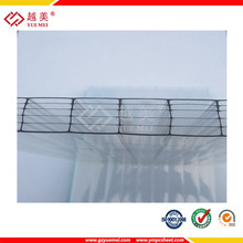 6mm hollow sheet polycarbonate plastic pc sheet for greenhouse skylights