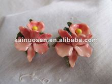 Decorative resin orchids