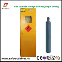 Anti-fire Lab Gas cylinders Storage Cabinets with gas leaking alarm