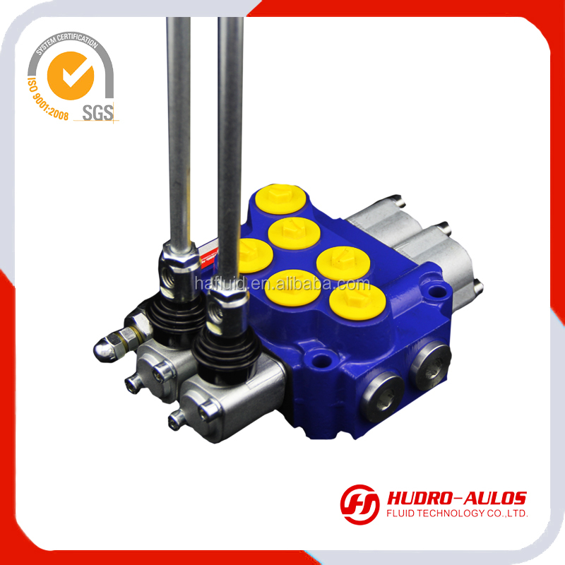 7310R LPM63L/min 4 way remote control electric hydraulic flow control valve made in china