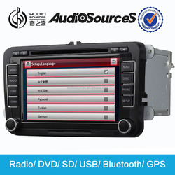 Hot sale!!! unique made in china car dvd player suitable for VW/skoda support wince 6.0 OS system