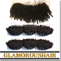 2015 Best Selling100% Unprocessed New High Quality Cheap Human Hair Lace Closure Kinky Closure