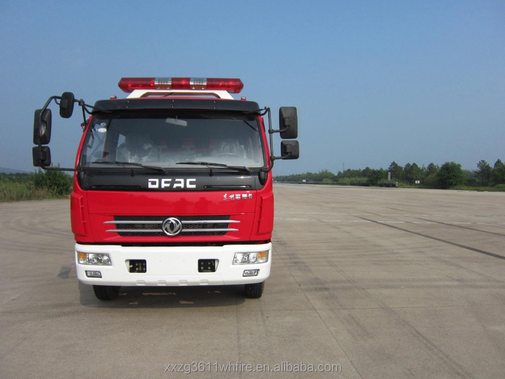 Top Hot Selling Hot Sale Diesel Emergency Rescue 4000L New Design Water Tank-Foam special chinese trucks
