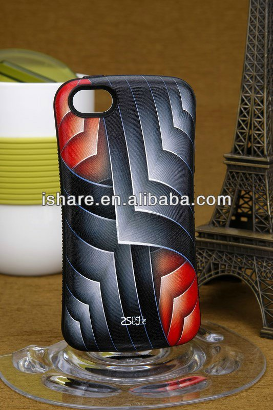 New Special design 3D Istyle silicone TPU IMD phone case cover for Apple iphone5/5S