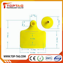 Long range UHF rfid animal ear tag for cattle/cow/goat/pigs