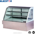 USA style deli case,display refrigerated cabinet,supermarket equipment,display cabinet,curved glass refrigerated bakery case,