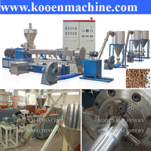 PE PP WPC wood pellet making machine plastic pelletizer machinery plant