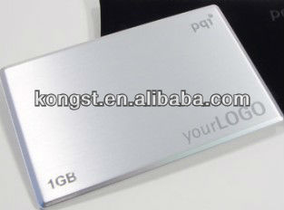 OEM High Speed Metal Business Card USB Flash Memory