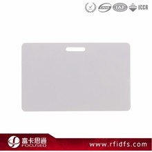 13.56Mhz RFID Custom Shape Card MIFARE Card Punch Hole