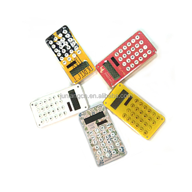 8 Digits Promotional Handhold Calculator with Maze Game customized logo or pattern