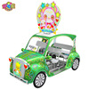 park family outdoor sightseeing pedal rickshaw
