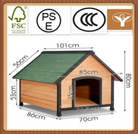 house wooden wholesale dog cages crates