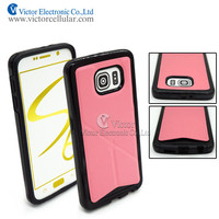 Transformers combo leather case with kickstand for Samsung Galaxy S6 /G9200