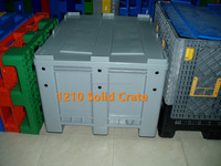 1200X1000X760mm solid HYH plastic collapsing folding crate