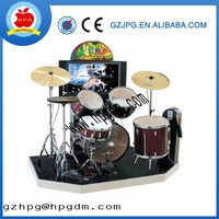 factory whole sale Jazz drum music game machine for sale,coin operated music game machine