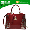 latest innovative products korean tote bag Genuine leather lady hand bag tote bag