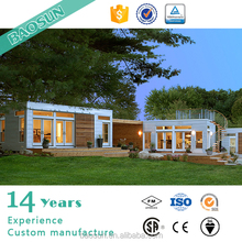 Fashion design fast construction prefabricated shipping container house luxury UK price