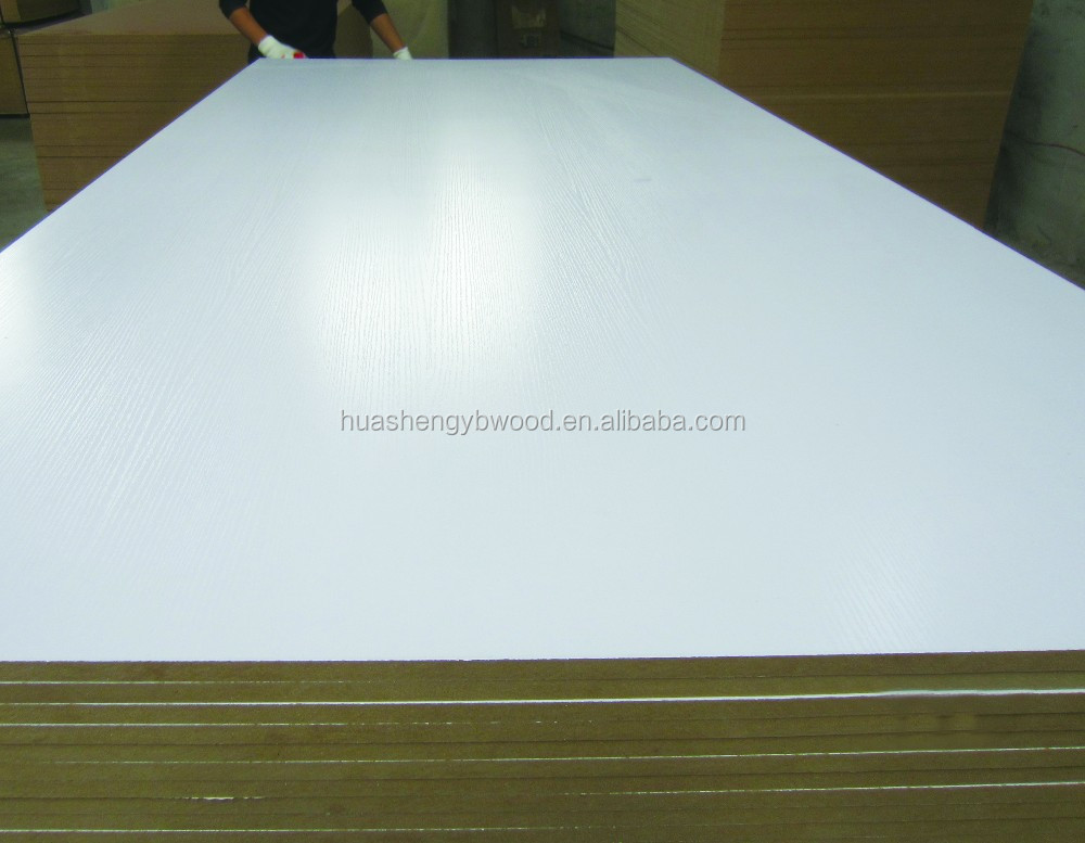 Melamine paper laminated plywood board