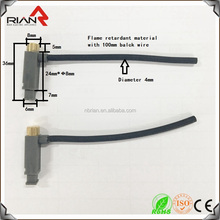 Flame retardant plastic Piezo igniter with 100mm black wire