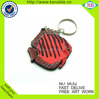 Rubber/plastic/pcv keychain wholesale