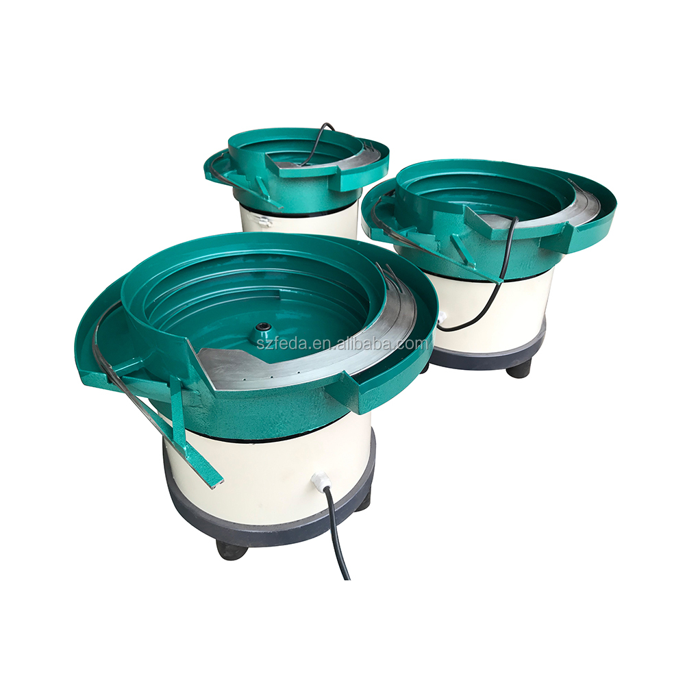 FEDA small size vibrating bowl vibration feeding devices automatic feeder for screw making machine