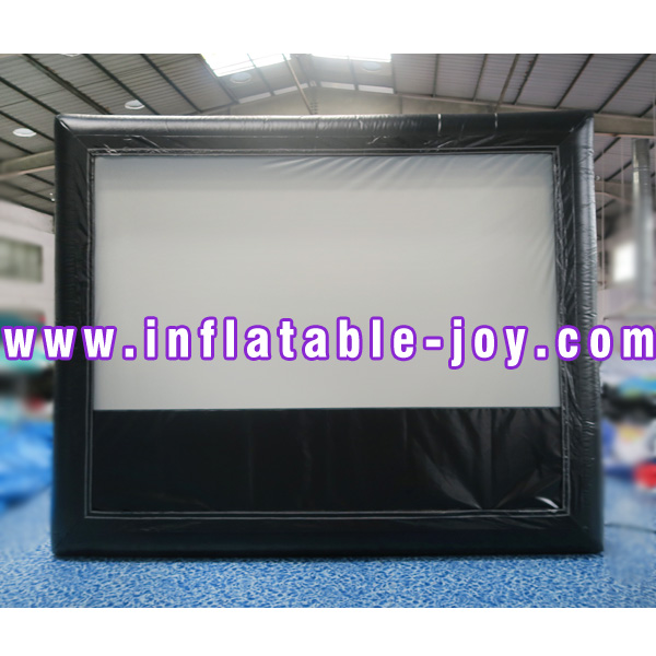 giant inflatable movie projector screen/ outdoor inflatable screen
