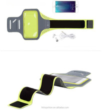 Hot new 2017 for ipod nano 6 armband, sports armband for htc one, running armband bag reflective armband