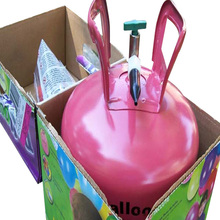Professional factory supply newly durable 2.7/3.45 /34.5bar(400/500) MAP 22.3l helium gas tank