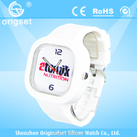 Customs Fashion Silicone Watch Japan movement Top quality