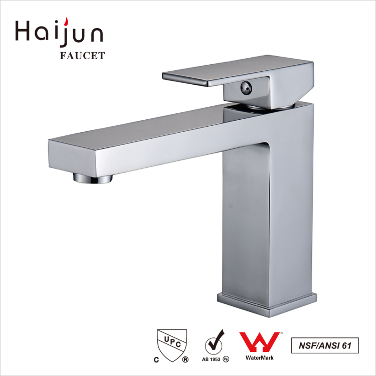 Haijun 2017 New Instant Water Heater Single Hole Waterfall Basin Faucet For Bathrooms