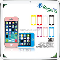 Colorful Tempered Glass Screen Protector for iPhone 5s