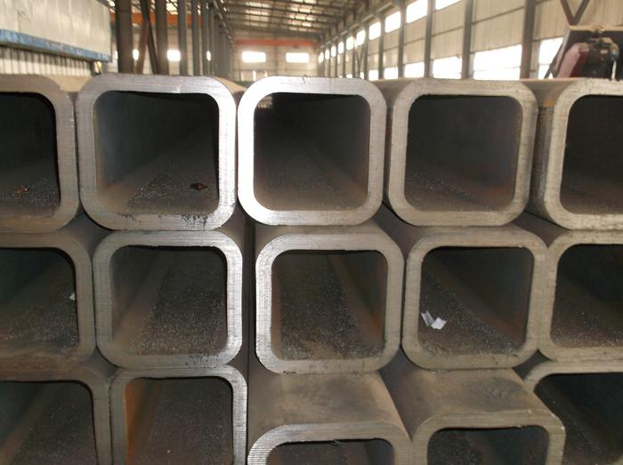 Hot black welded square structural hollow section shape steel pipe/tube
