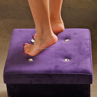 Wedding Products PU Makeup stool Footstool Storage Bench