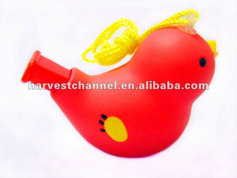 Alibaba new products custom logo, plastic animal shape whistle for kids