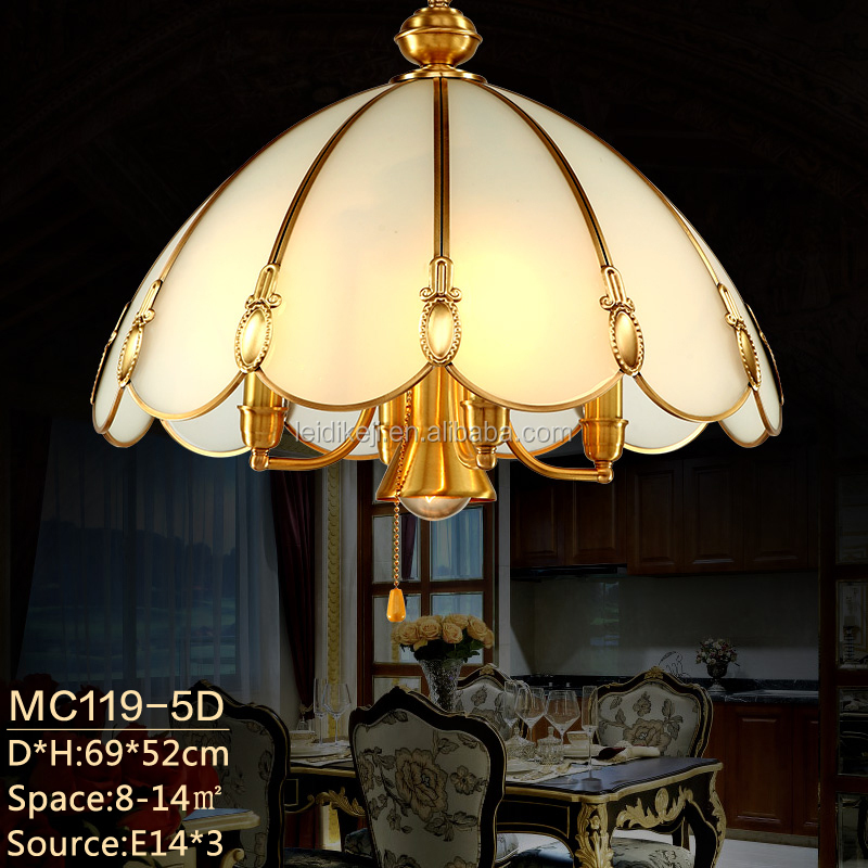 European led pendant lights brass dining room hanging pendant lamps